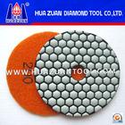 3 polegadas diamante seco polimento pad