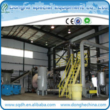 WJ-8 waste tyre/rubber processing plant with high efficiency