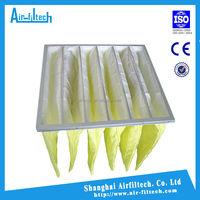Quality F5-F9 Manufacturer Panel Hepa Pocket bag filter cost