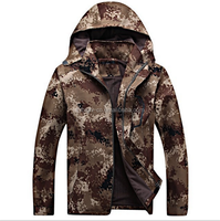 cheap custom quilted men soft shell mordern camo jacket