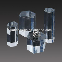 New style clear acrylic jewelry holder figurines