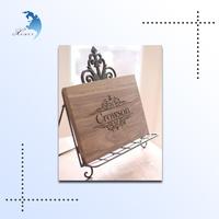 China supplier factory direct sale garden decor wooden plaque