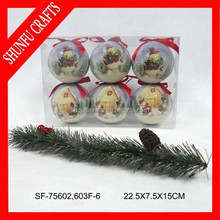 popular sale 6 person christmas ornament