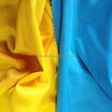 100 Polyester Knitting One Side Brushed Micro Velboa Golden Sportwear Fabric For Clothing