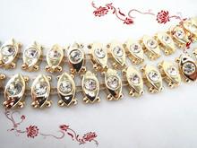 Lady's Dress Plastic Rhinestone Decoration Accessories 10 Yards