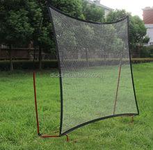 Portable folding soccer goal tennis rebound net for multi sport training