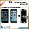 9H Anti shock tempered glass privacy screen protector for iphone 5/5s