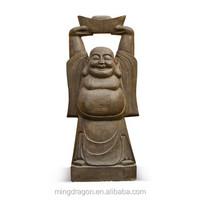 Chinese antique stone buddha Statue