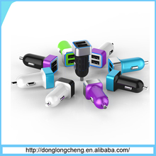 usb car charger 2 port for iPhone 6/6 Plus/5S/5C/5,Samsung Galaxy S6 / S6 Edge / S5/S4/S3