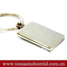 Metal key rings fobs