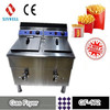 Commercial KFC Gas Deep Fryer Temperature Control GF-172 for Hotel Supply Catering