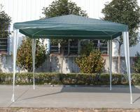 3x3 simple PE garden gazebo/tonnelle/fixed pavilion gazebo/assemble poly gazebo tents