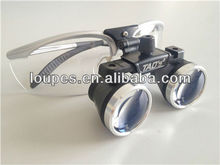 3.0 x medical loupes and galilean flip-up magnifiers