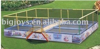 6 in1 Bungee Trampoline bed,six in one jumping bed,6 perons jumping bed