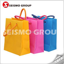 cheap paper bag for shopping pizza paper bag making machine