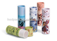 Alibaba china wholesale Custom paper package tube/round cardboard gift box/gift tube package