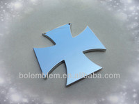Plasitc Chrome Cross Emblem
