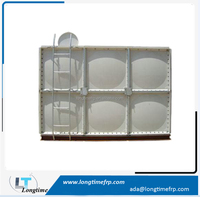 2015 Alibaba Trade Assurance square sectional fiberglass grp smc frp panel water storage tank with best price
