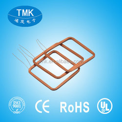 transmitter receiver air core coil litz wire