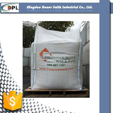 low price pp woven big bag for firewood