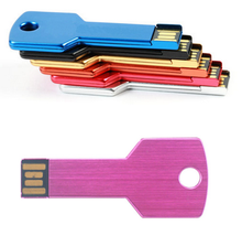 Factory Bulk Sale Custom Any Logo Key Shape usb Flash Driver Pendrive 32gb