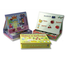 child creative magnetic learning educational body magnetic book