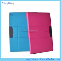 2015 hot selling shockproof pu leather flip case for lenovo tab a8-50 a5500