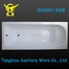 anti-slip acrylic bathtub, two wall corner triangular bathtub, compact shower tub