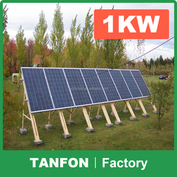 solar panel system for philippines / 1kw solar panel kit for philipines / 1kw solar panel plant 1kw