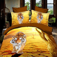 fashion design 3D bed cover and 3D bed sheet