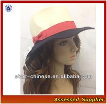 E082/sombrero panama lana/ sombrero de nueva moda/ playa hat/ wholesalesventa al por mayor