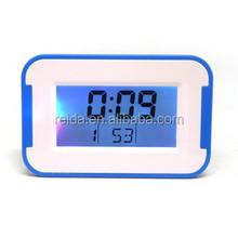 Digital LCD alarm clock with back light