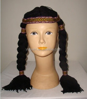 Black stretchy band indian headdress for sale