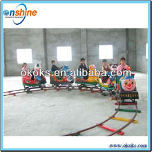 Outdoor Attraction fiberglass train for Kiddie