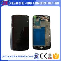 original lcd screen for LG Google Nexus 4 E960 with frame