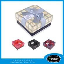 jewel box manufacture wedding favor box in china cufflinks &jewels box