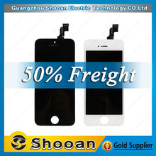 Brand New Cheap wholesale lcd with digitizer assembly for iPhone 5C, for iPhone5C lcd, for iPhone 5C lcd assembly