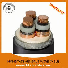 Copper conductor MV armoured XLPE cable