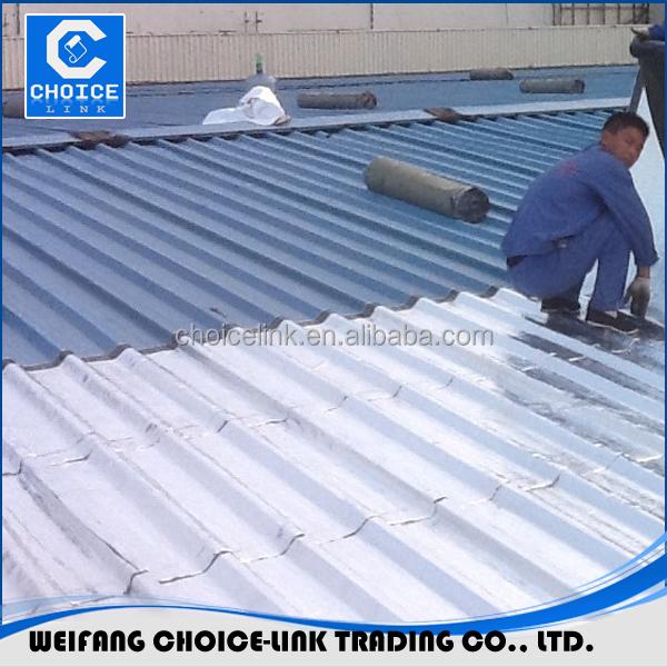 Bituminous Membrane Roofing : Self adhesive bitumen membrane roof top waterproof