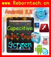 "Tablet PC Android 2.2 8GB Capacitive Multi 9.7"" FreeScale Bluetooth A8 Android 2.2 Froyo WiFi 3G Iped MID 3.0"