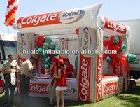 OUTDOOR advertising inflatable booth tent for toothpaste