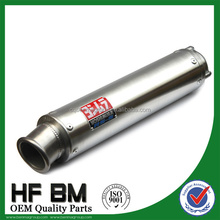 wholesale stainless steel 250cc motorcycle exhaust muffler, motorcycle racing exhaust muffler
