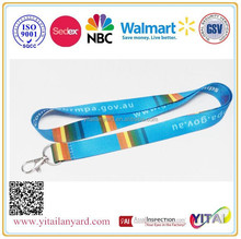 cheap custom lanyards customized logo from sedex/NBCUniversity/Walmart approval factory