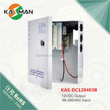 Security power supply box of ups uninterrupted power supply 12VDC 4channel 3amps output
