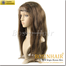 Hot selling AAAAAquality 100% wholesale price human hair half wigs