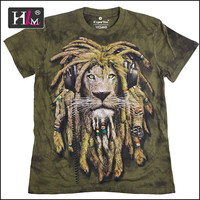 2015 new arrival china Manufacturers 3d hayvan t shirt with good quality