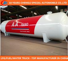 Q345R steel plate lpg storage tank 50 cubic meter 20~25ton lpg gas tank