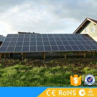 Complete fittings rooftop off grid 1kw solar power generator system