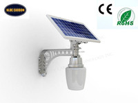 Apple shaped solar garden light