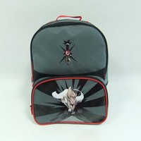 Fashion 600D polyester college school backpack